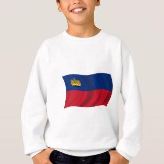 リヒテンシュタインの旗 スウェットシャツ
