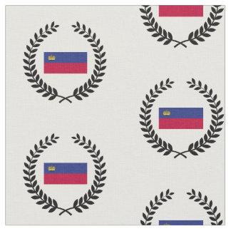 リヒテンシュタインの旗 ファブリック
