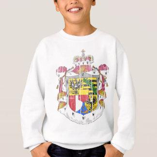 リヒテンシュタインの紋章付き外衣 スウェットシャツ