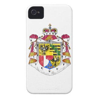リヒテンシュタインの紋章付き外衣 Case-Mate iPhone 4 ケース