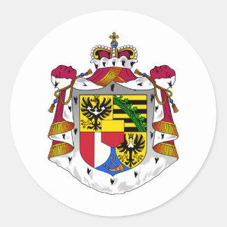 リヒテンシュタインの紋章 ラウンドシール