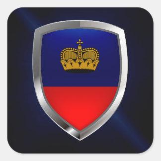 リヒテンシュタインの金属紋章 スクエアシール