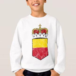 リヒテンシュタイン少し紋章付き外衣 スウェットシャツ