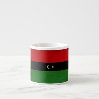 リビアの旗のリビアtex3Republicの共和国 エスプレッソカップ