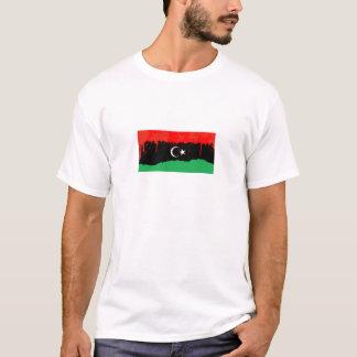 リビアの旗の様式化された王国 Tシャツ