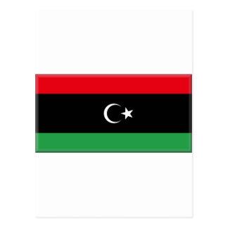 リビアの旗1951年 ポストカード