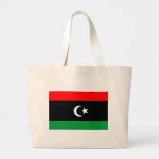 リビアの旗 ラージトートバッグ