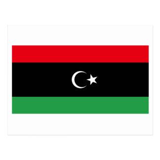 リビアの旗(1951-1969年)の王国 ポストカード
