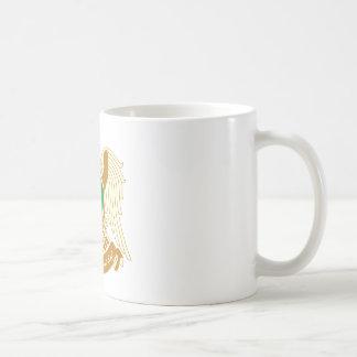 リビアの紋章付き外衣 コーヒーマグカップ