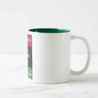 リビアの自由なマグ ツートーンマグカップ