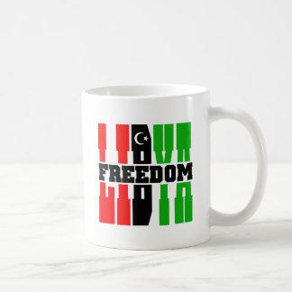 リビアの自由 コーヒーマグカップ
