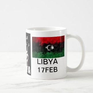 リビアの血は赤線です コーヒーマグカップ