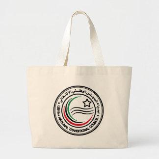 リビア過渡的な議会シール ラージトートバッグ