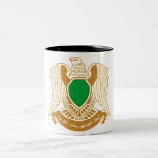 リビア- ليبيا ツートーンマグカップ