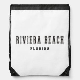 リビエラのビーチフロリダ ナップサック