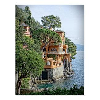 リビエラ- Portofinoのイタリアンな郵便はがき ポストカード