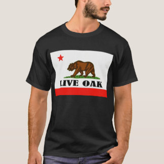 リブオーク、カリフォルニア Tシャツ