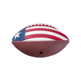 リベリアの小型フットボールの旗 アメリカンフットボール