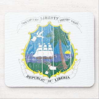 リベリアの紋章付き外衣 マウスパッド