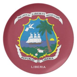 リベリアの頂上の壁のプレート/リベリアのcrêteのプラク プレート