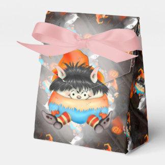 リボンの好意箱が付いているLUTINハロウィンの漫画のテント フェイバーボックス