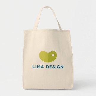 """リマのデザインの食料雑貨の戦闘状況表示板… """"豆バッグ"""" トートバッグ"""