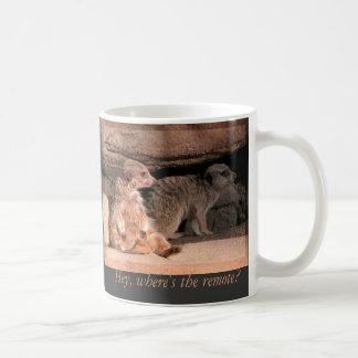 リモートがあるところ、ちょっと! コーヒーマグカップ