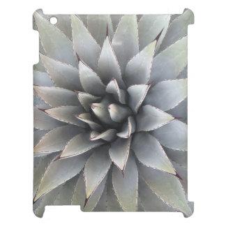 リュウゼツランのSucculent -精通した無光沢のiPadの箱を包装して下さい iPadケース