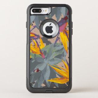 リュウゼツラン + 極楽鳥 オッターボックスコミューターiPhone 8 PLUS/7 PLUSケース