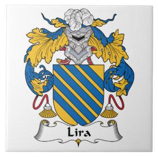 リラの家紋 タイル
