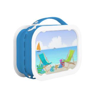 リラックスさせるなビーチのお弁当箱 ランチボックス