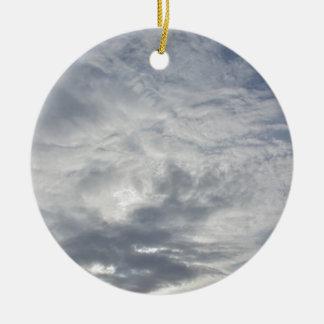 リラックスさせるな曇った日 セラミックオーナメント