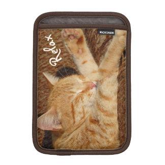 リラックスさせるな猫 iPad MINIスリーブ