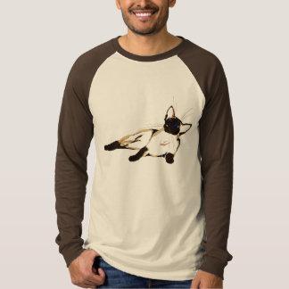 リラックスしたシャムのワイシャツ Tシャツ