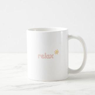 リラックスして下さい コーヒーマグカップ