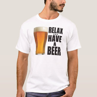 リラックスして下さい Tシャツ
