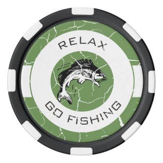 リラックスし、採取することを行って下さい ポーカーチップ