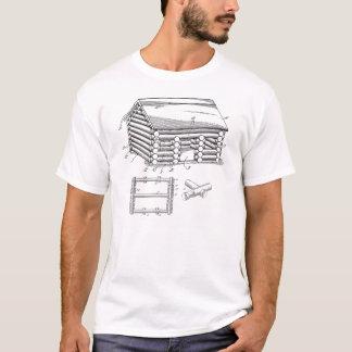 リンカーンの丸太 Tシャツ