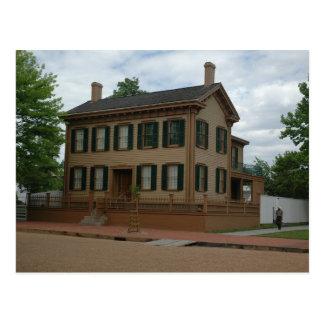 リンカーンの家 ポストカード
