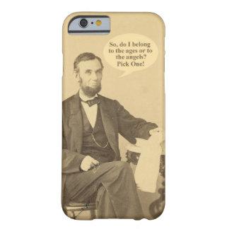 リンカーンの年齢か天使の歴史的な引用文 BARELY THERE iPhone 6 ケース