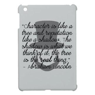 リンカーンの引用文 iPad MINIケース