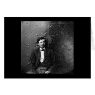 リンカーンの暗殺の共謀者アーノルド1865年 カード