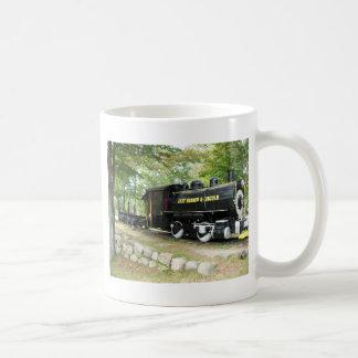 リンカーンの東の枝及び列車、リンカーンニューハンプシャー コーヒーマグカップ