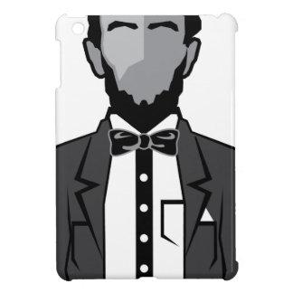 リンカーンの漫画のベクトル iPad MINIケース