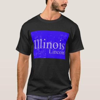 リンカーンの青 Tシャツ