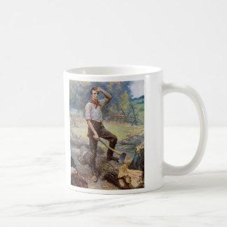 リンカーンジーンL. Gerome Ferris著柵のディバイダー コーヒーマグカップ