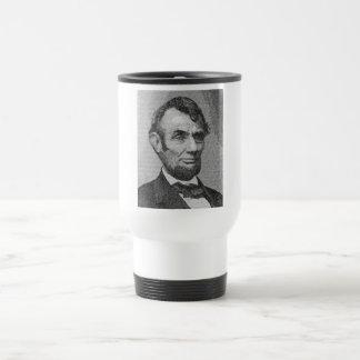リンカーン大統領はw/the Gettysburgの住所を描写します トラベルマグ
