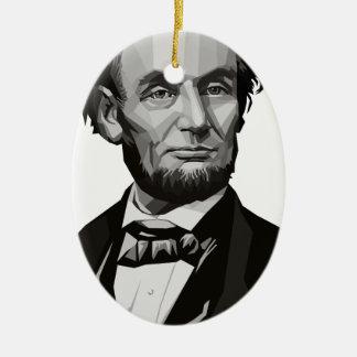 リンカーン大統領 セラミックオーナメント
