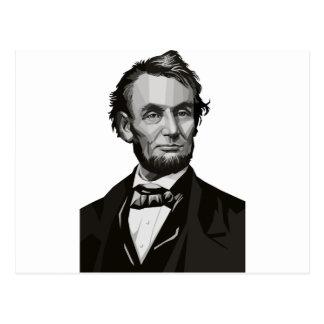 リンカーン大統領 ポストカード