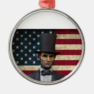 リンカーン大統領 メタルオーナメント